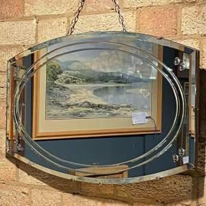 1930s Art Deco Wall Mirror