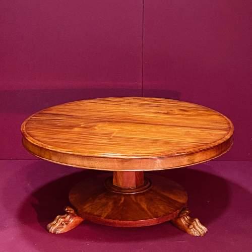 Victorian Flame Mahogany Coffee Table image-1