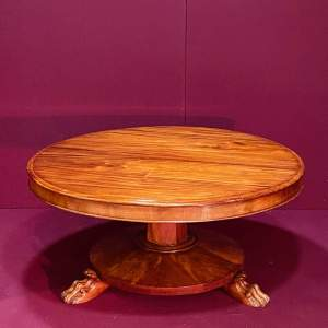 Victorian Flame Mahogany Coffee Table