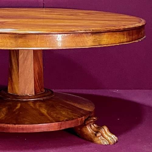 Victorian Flame Mahogany Coffee Table image-2