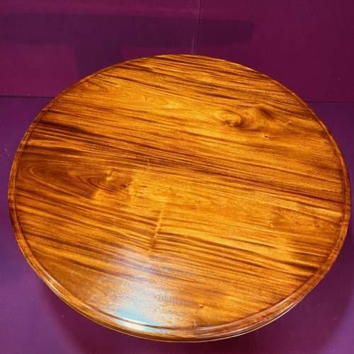 Victorian Flame Mahogany Coffee Table image-4