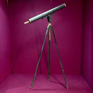 Large Vintage Astroscope Telescope on Tripod