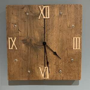 Scaffold Board Clock