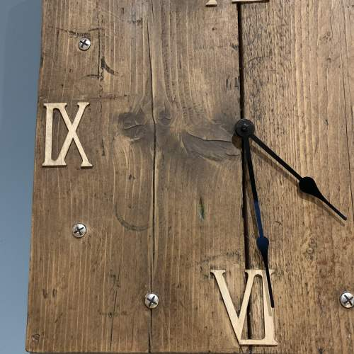 Scaffold Board Clock image-2