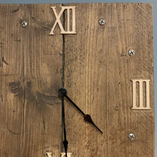 Scaffold Board Clock image-3