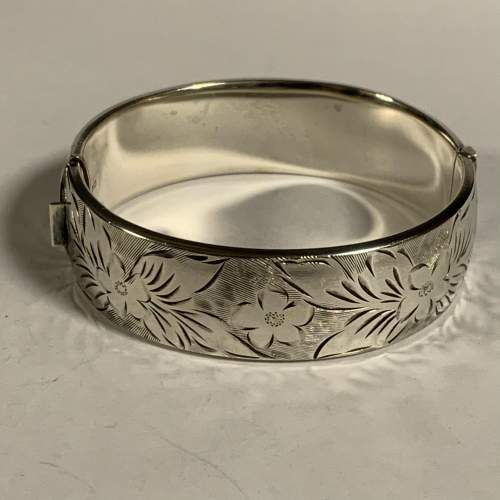 Vintage Silver Bangle image-1