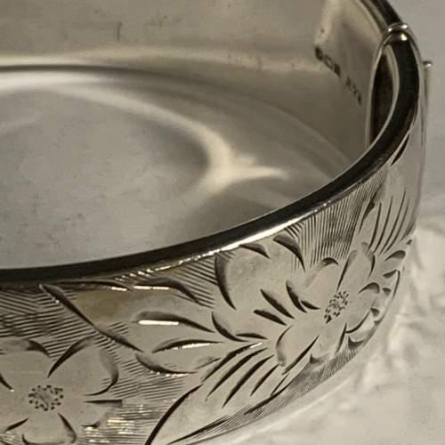 Vintage Silver Bangle image-3