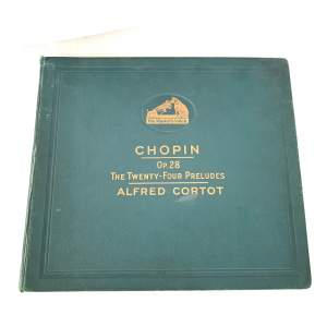 Collection of HMV 78rpm Records - Chopin The 24 Preludes Op. 28