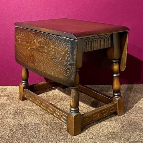 Mid 20th Century Swivel Top Drop Leaf Coffee Table image-1