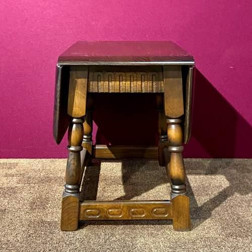 Mid 20th Century Swivel Top Drop Leaf Coffee Table image-3