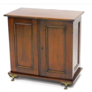 Mahogany Smokers Cabinet