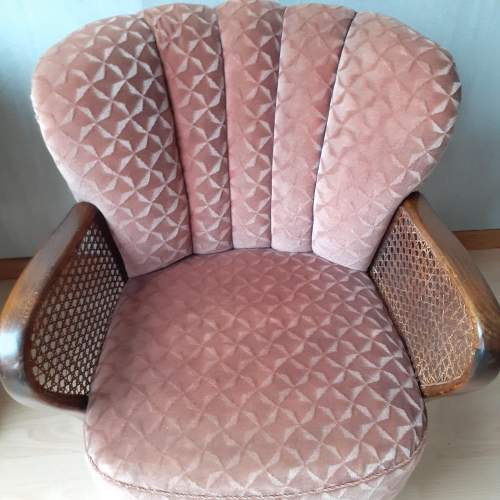 Mid 20th Century Pair of Vintage Cocktail Armchairs image-5