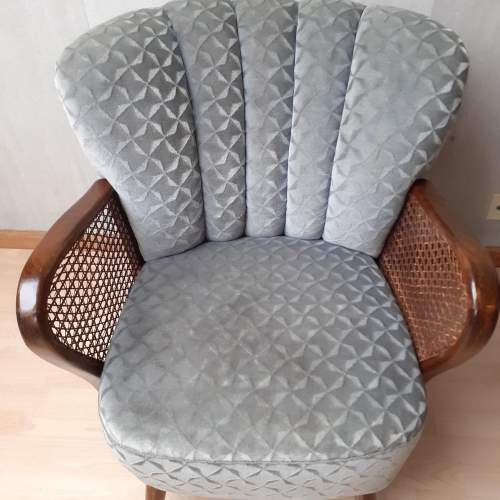 Mid 20th Century Pair of Vintage Cocktail Armchairs image-6