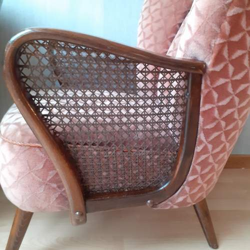 Mid 20th Century Pair of Vintage Cocktail Armchairs image-4