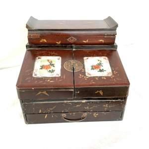 19th Century Japanese Writing Box