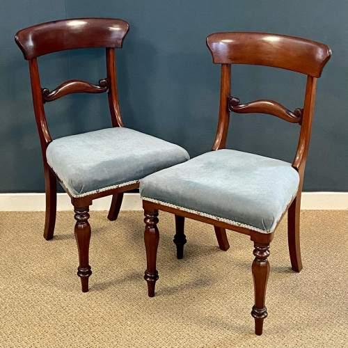 Set of Six Mahogany Dining Chairs image-2