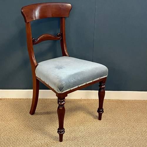 Set of Six Mahogany Dining Chairs image-3