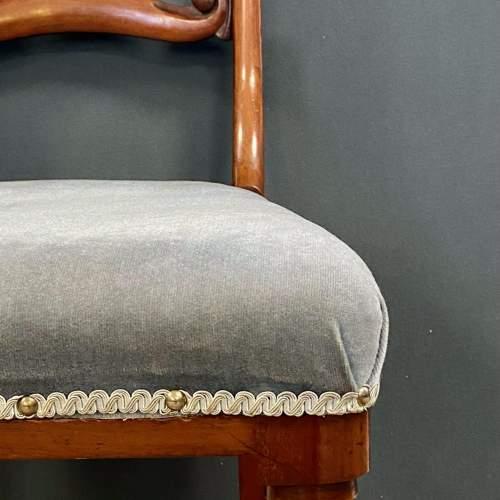 Set of Six Mahogany Dining Chairs image-5