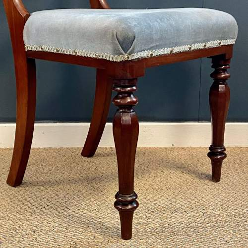 Set of Six Mahogany Dining Chairs image-6