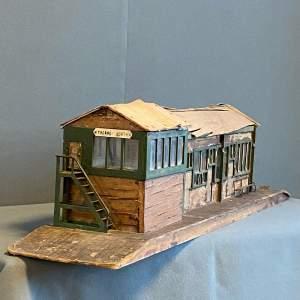Handmade Railway Station Model