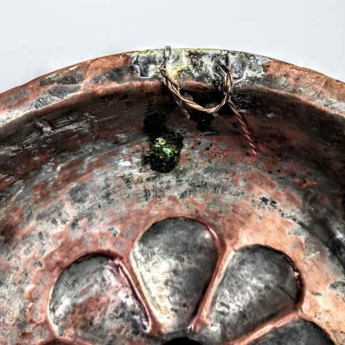 Arts and Crafts Hammered Copper Muffin Dish image-6