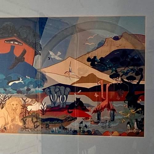 Framed Noahs Ark Print image-2