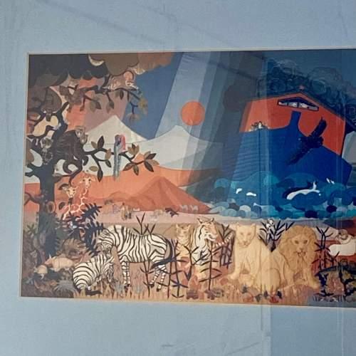 Framed Noahs Ark Print image-3