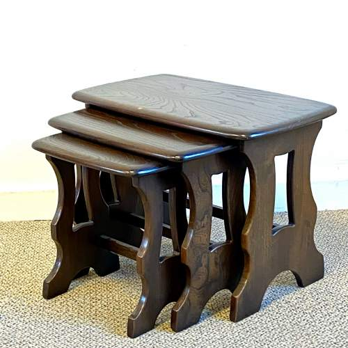 Ercol Chantry Nest Of Tables image-1