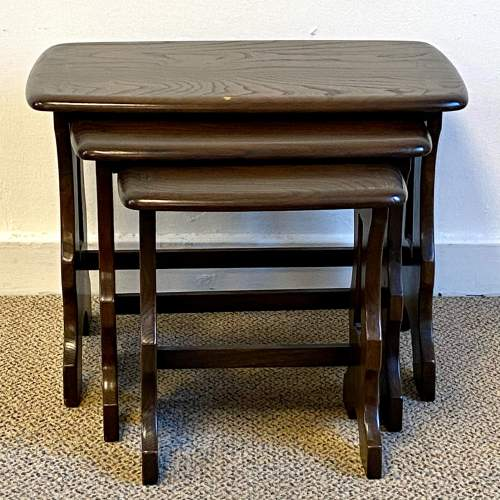 Ercol Chantry Nest Of Tables image-2