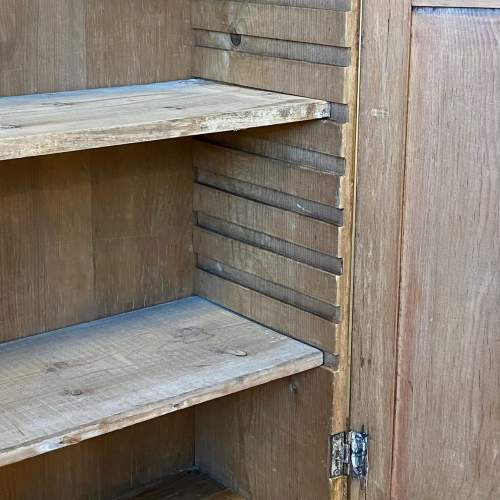 Victorian Large Pine Wall Cupboard image-4