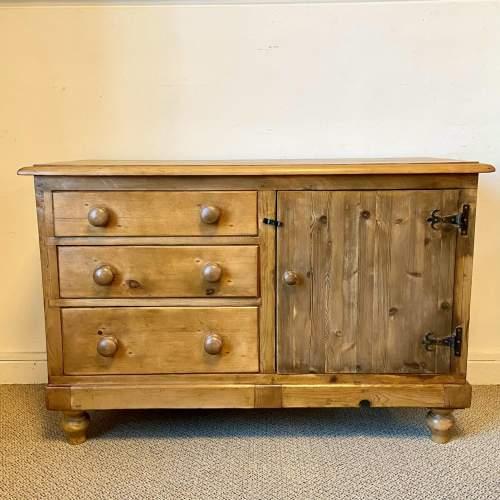 Victorian Pine Dresser Base image-2