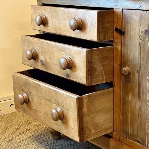 Victorian Pine Dresser Base image-3