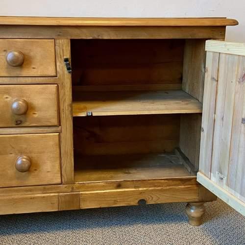 Victorian Pine Dresser Base image-4