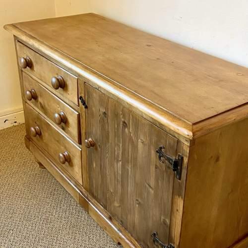 Victorian Pine Dresser Base image-5