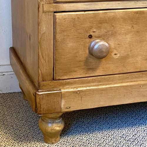 Victorian Pine Dresser Base image-6