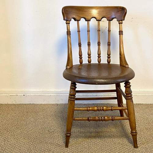 Spindle Back Office Chair with Penny Seat image-2