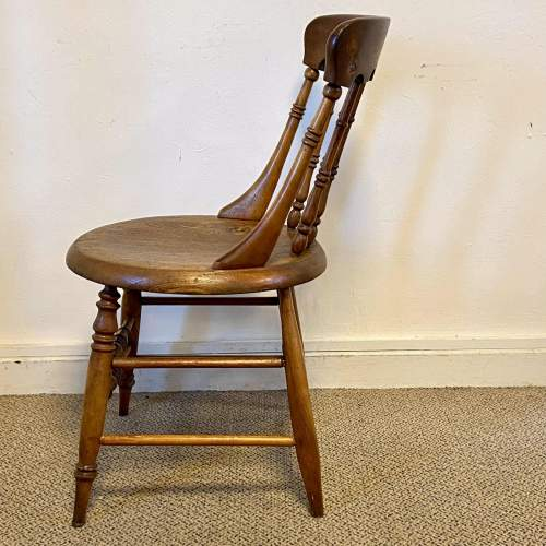 Spindle Back Office Chair with Penny Seat image-3