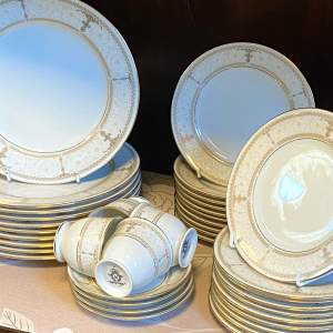 Noritake Aurelia Coffee Set and Dinner Plates