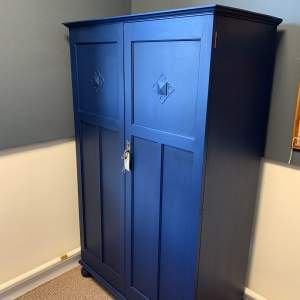 Painted 1940s Gents Wardrobe