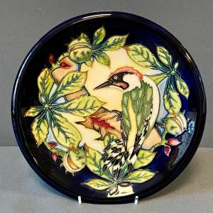 Moorcroft Charger of the Inglewood Green Woodpecker
