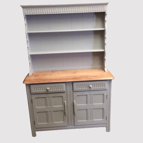 Painted 20th Century Elm Top Dresser image-1