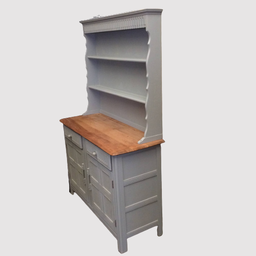 Painted 20th Century Elm Top Dresser image-3