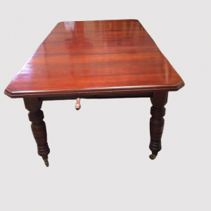 Victorian Walnut Extending Wind Out Dining Table