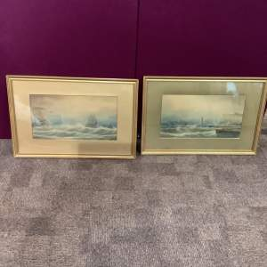 Pair of Whitby Watercolours