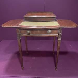 Edwardian Mahogany Ladies Desk