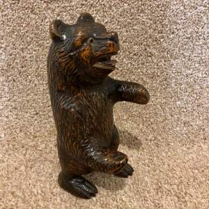 Early 20th Century Black Forest Bear
