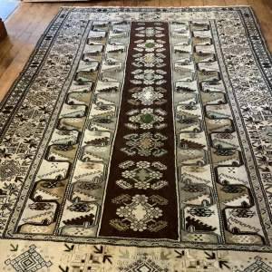 Superb Quality Hand Knotted Turkish Rug Milas A Stunning Example