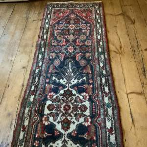 Superb Quality Old Hand Knotted Persian Runner Hamadan