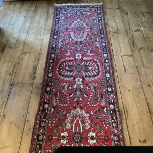 Superb Quality Old Hand Knotted Persian Runner Sarouk