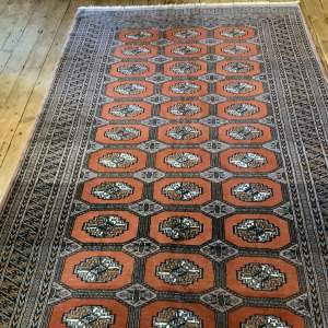 Hand Knotted Bokhara Rug Wonderful Colours